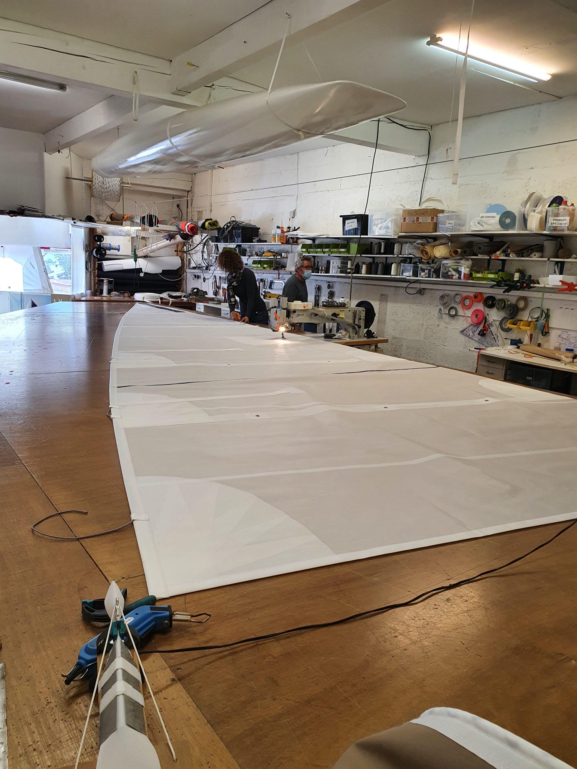 Fabricant voiles de bateau à hyeres